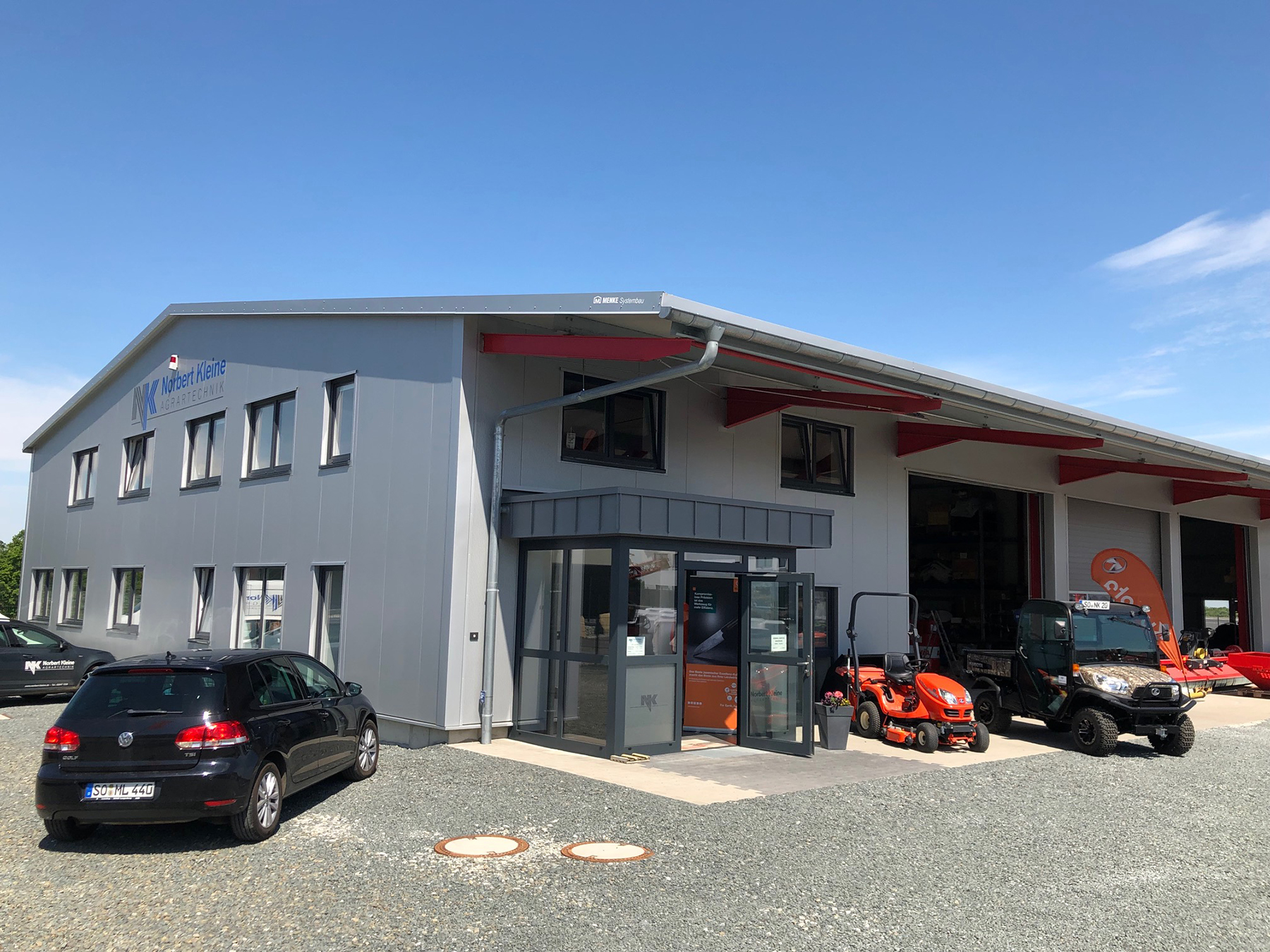 Neubau einer Werkstatt Norbert Kleine GmbH